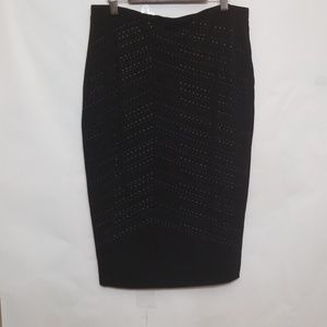 Vince Camuto size small black skirt